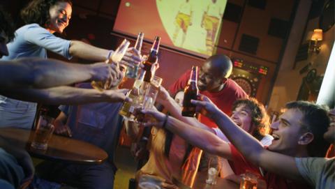 Los cuatro tipos de borrachera