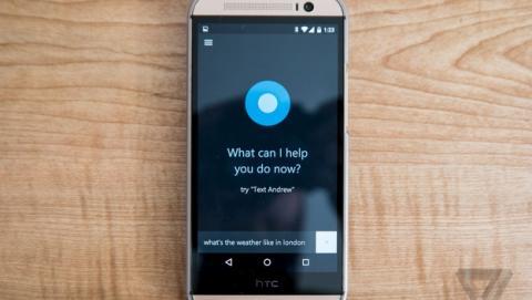 Cortana funcionando en Android, primeras imágenes.