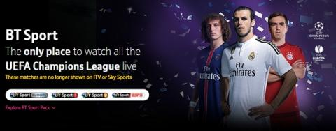 Canal deportivo BT en Ultra HD