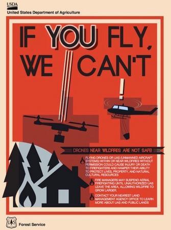 Drones e incendios