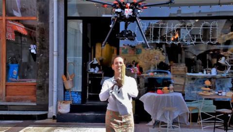Currus&Co, la primera panadería del mundo que repartirá pan a domicilio con la ayuda de drones