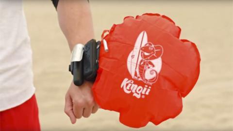 Kingii, un salvavidas wearable para la seguridad en el agua
