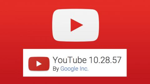 Actualización 10.28.57 de YouTube: vídeos offline