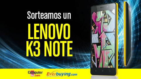 Sorteamos un Lenovo K3 Note en Facebook gracias a Everbuying