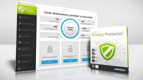 Ashampoo Privacy Protector encripta tus datos y borra los rastreos.