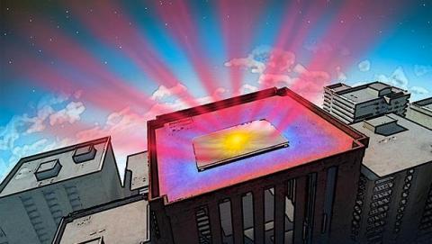 El nuevo material elimina el calor de los edificios: enfriamiento fotónico radiante