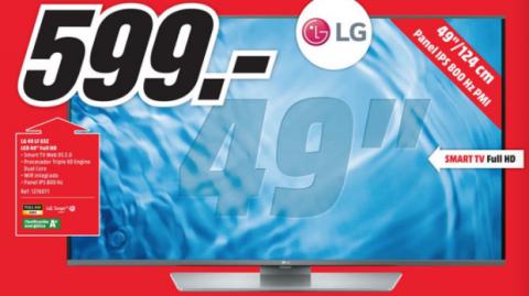 televisión LG mediamarkt