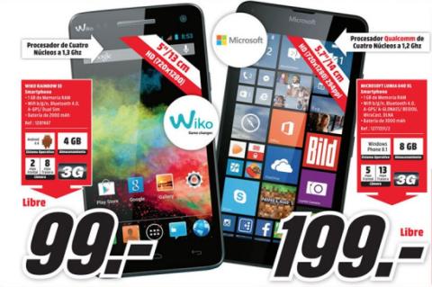 móviles mediamarkt