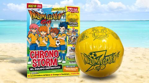 ¡La Revista Oficial de Inazuma Eleven Go ya está a la venta!