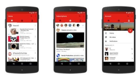 YouTube actualiza su aplicación para dispositivos móviles