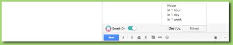 Solo hay que encender el interruptor de Dmail