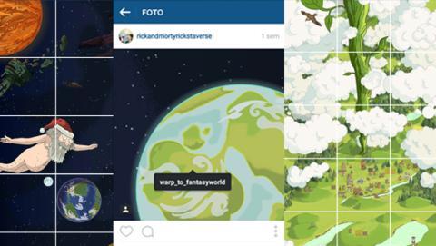 El primer juego para Instagram está basado en Rick y Morty