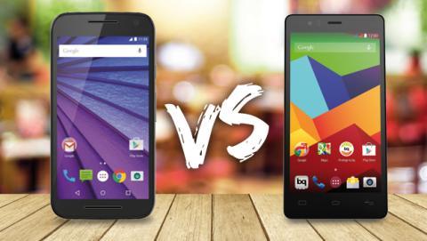 Comparativa: Moto G 2015 vs bq Aquaris E5 4G ¿Quién ganará?