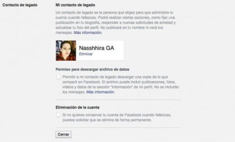 Facebook ya te permite elegir quién controlará tu cuenta cuando mueras