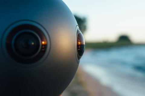Ozo, la cámara 360 de Nokia - grabación al aire libre