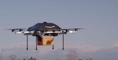 Amazon podría estar trabajando ya en rutas aéreas para drones