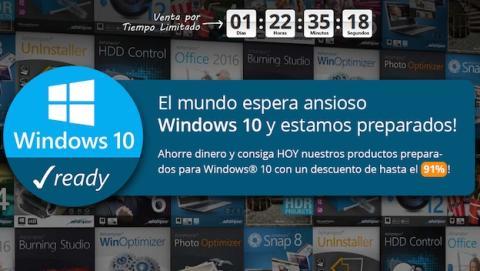Ashampoo muestra su línea de productos para Windows 10