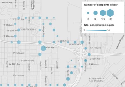 Los coches de Google Street View harán mapas de la contaminación de las ciudades