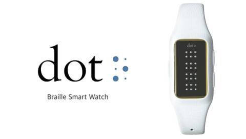 Dot, el primer reloj inteligente en braille para ciegos
