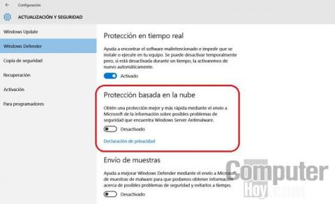 Windows 10 y las tecnologias de seguridad