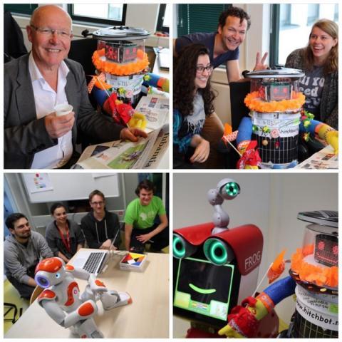 HitchBOT El robot autoestopista