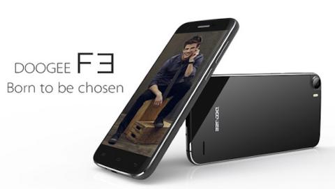 Doogee F3: potente móvil chino 4G con 3 GB de RAM y Android 5.0