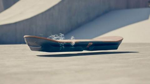 Así funciona Hoverboard skate volador Lexus