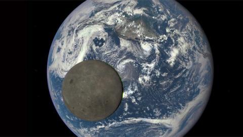 La NASA capta la mejor imagen del lado oscuro de la Luna