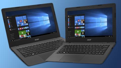 Acer presenta los Cloudbooks, sus PCs baratos con Windows 10