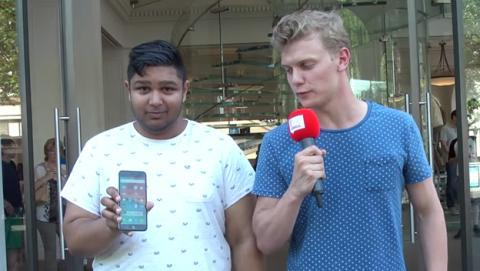 Fans Apple prueban Android sin saberlo encanta