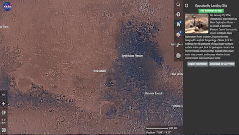 Pasea el Curiosity de la NASA como si estuvieras en Marte