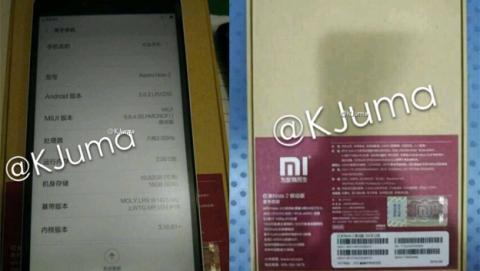 Se filtran imágenes del nuevo terminal Xiaomi Redmi Note 2