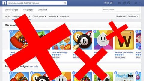 Cómo dejar de recibir invitaciones de juegos en Facebook
