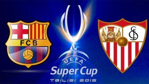 Cómo ver online y en directo la final de la Supercopa de Europa entre Barcelona y Sevilla