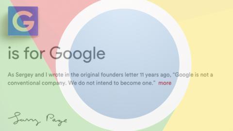 Google ahora se llamará Alphabet. Pero, ¿qué es Alphabet?