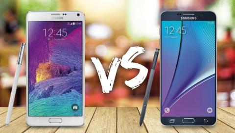 Samsung Galaxy Note 5 vs Samsung Galaxy Note 4 ¿Qué cambia?