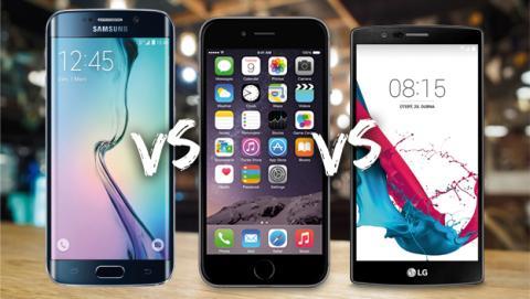 Samsung Galaxy S6 Edge+, iPhone 6 Plus o LG G4