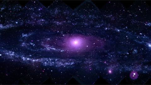 Estudian 200.000 galaxias para trazar la lenta muerte del universo