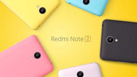 Xiaomi Redmi Note 2 características precio