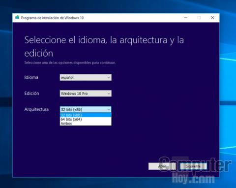 Crea el archivo ISO de Windows