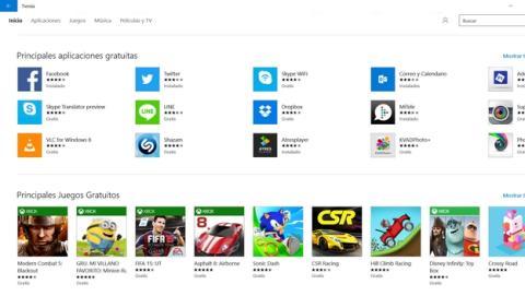 La tercera actualización de Windows 10 arregla la Tienda Windows.