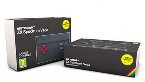 El nuevo ZX Spectrum VEGA a la venta el 24 de agosto.