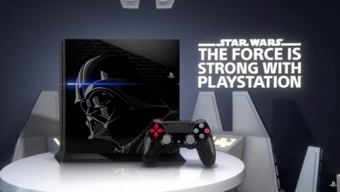 PlayStation 4 Star Wars Limited Edition, Darth Vader conquista la PS4.