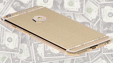 Ya puedes reservar el nuevo iPhone 6S... de 200.000 dólares