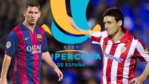 Cómo ver online y en directo la final de la Supercopa de España entre Barcelona y Bilbao