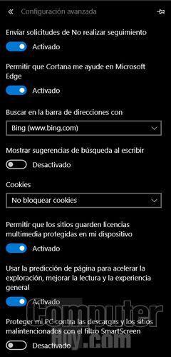 Microsoft Edge, los mejores trucos del navegador de Windows 10