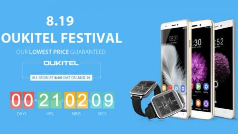 Hazte con un Oukitel al mejor precio por tiempo limitado