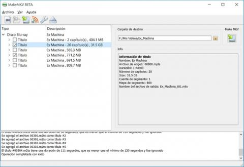 Cómo convertir películas blu-ray a MKV para verlas en Windows 10