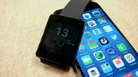 Cómo conectar un iPhone con un smartwatch Android Wear