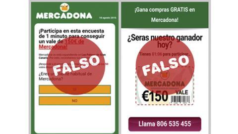 ¡Ojo! Vales de Mercadona falsos ponen en peligro tu móvil